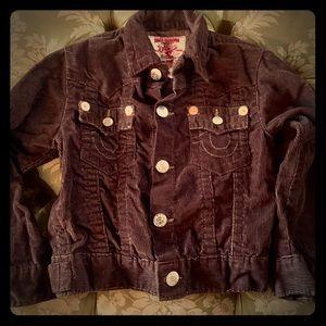 Child's True Religion Corduroy Jacket